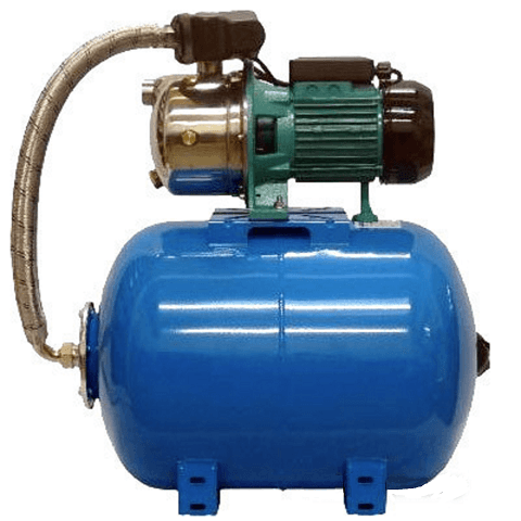 Чтобы этого не происходило, рекомендуем использовать насос с накопительной емкостью или гидроаккумулятором для резервных запасов воды