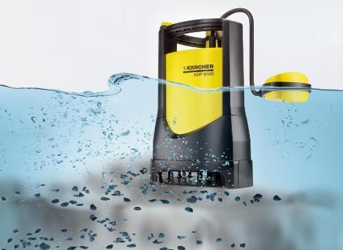 Насосы для грязной воды Керхер славятся своей надежностью и безотказной работой