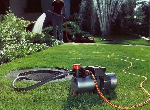 Такие насосы часто используются в личных хозяйствах для полива или водоснабжения дома из колодца