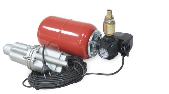 С гидроаккумулятором и реле давления такое устройство превращается в мини-насосную станцию
