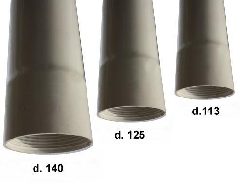 Стандартные размеры обсадных труб