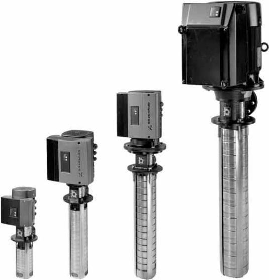Полупогружные многоступенчатые агрегаты