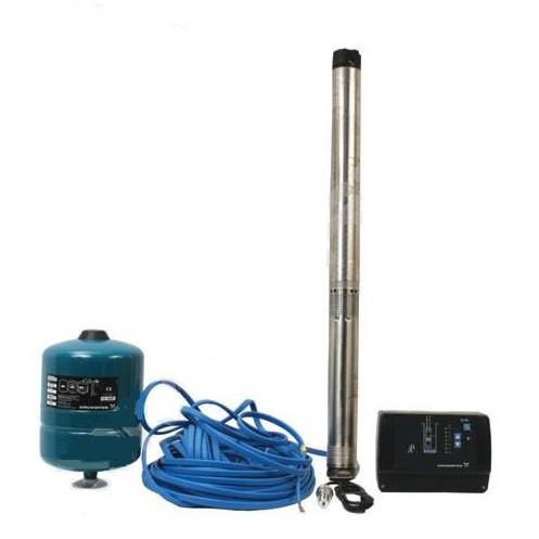 Дополнительное оборудование, которым оснащается насос глубинный – частотный регулятор, мембранный бак, реле давления