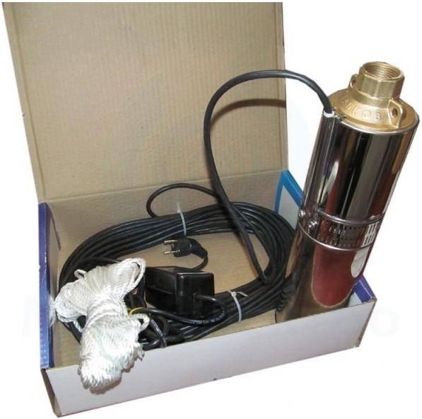 В комплект входит конденсаторная коробка для глубинных насосов, устанавливаемая вне скважины