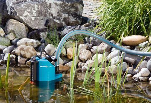Дренажные насосы можно использовать для подачи воды из природных водоемов