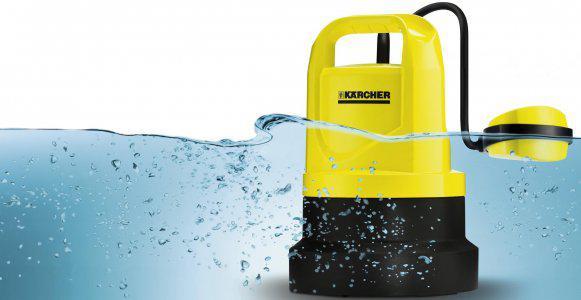 Дренажный насос, оборудованный «поплавком», отключится самостоятельно при достижении минимального уровня откачиваемой воды.