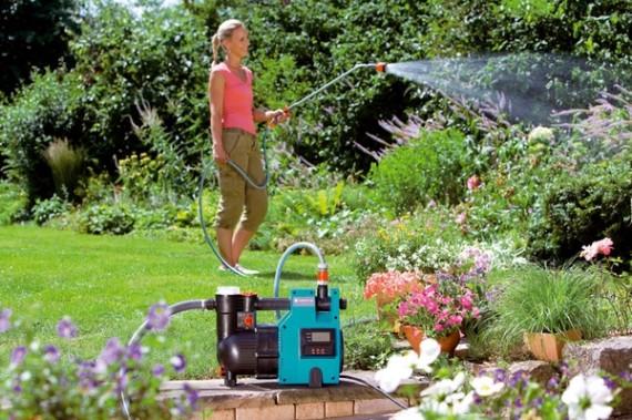Поверхностные бытовые насосы устанавливают вблизи водоемов или других источников.