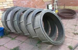 Железобетонные колодезные кольца имеют довольно широкую область использования.