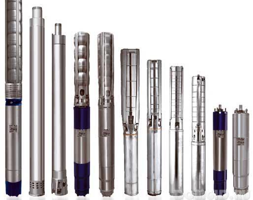 Глубинные насосы выпускаются для установки в скважины разного диаметра.