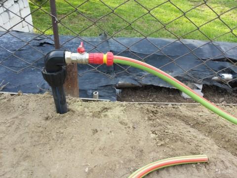 Дачный водопровод из пропиленовых труб