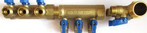 Распределительный коллектор для домашнего водопровода