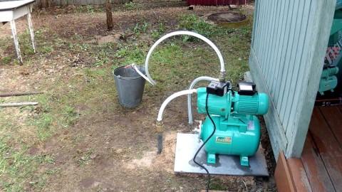 Станция для водоснабжения частного дома из абиссинской скважины