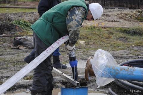 Основной способ очистки скважин – это промывка