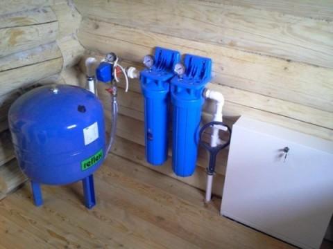 Гидроаккумулятор и фильтры тонкой очистки