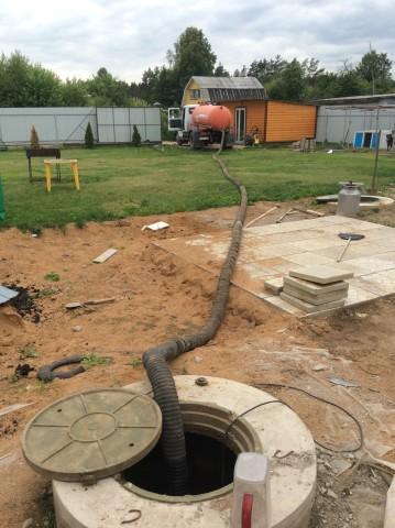 Вариант водоотведения: откачка септиков и вывоз ЖБО