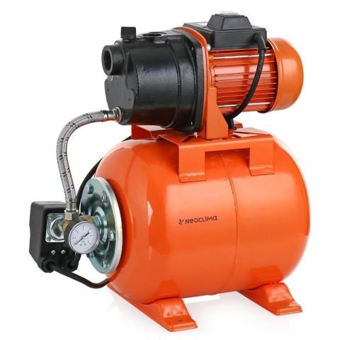 Насосная станция водоснабжения: гидроаккумулятор в сборе с насосом