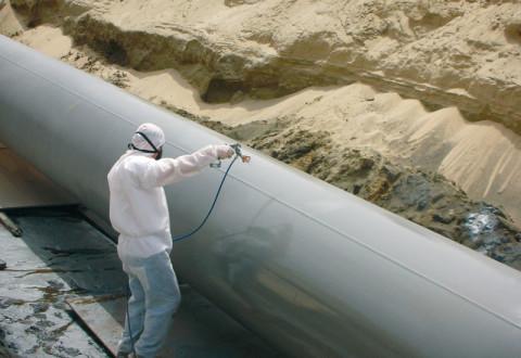 Окраска трубопроводов водоснабжения