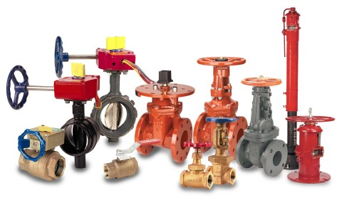 Запорная водопроводная арматура в ассортименте