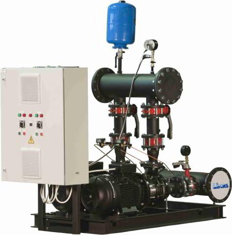 Автоматическая установка (АНУ) для систем отопления, подачи горячей и холодной воды