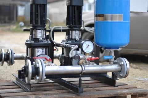 Насосная станция для чистой воды