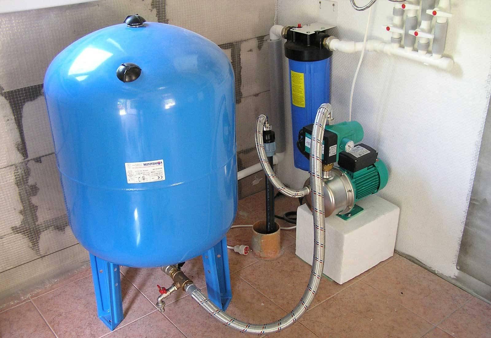 схема водоснабжения низкое давление в водопроводе