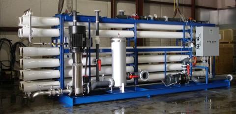 Установка ХВО - химическая очистка оборотной воды
