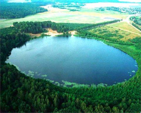 Бессточное озеро для водоснабжения