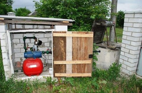 Дачную насосную станцию можно установить в любом хозяйственном помещении