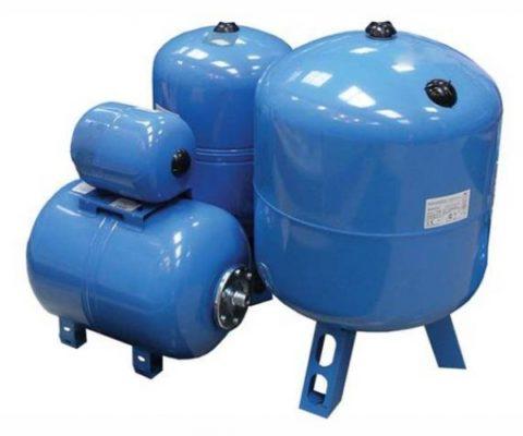 Гидроаккумуляторы для внутридомовых водопроводных систем