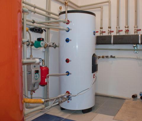 Резервные источники горячего водоснабжения