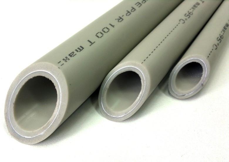 Трубы PN25 с армированием алюминиевой фольгой