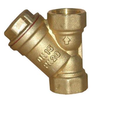 Фильтр грубой очистки задержит песок, окалину и прочие переносимые водопроводной водой взвеси