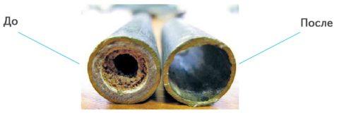 Химическая промывка способна преобразить старый водопровод