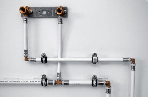 Металлопластиковый водопровод на пресс-фитингах