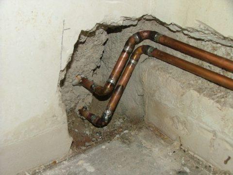 Паяные соединения — лучший выбор для скрытой прокладки водопровода