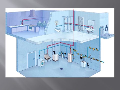 Разводка водоснабжения в частном доме