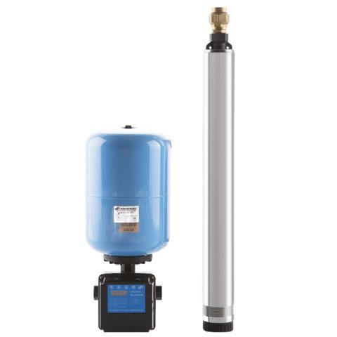 Системы водоснабжения Водомет от Джилекс, представляют собой готовый к монтажу набор из насоса, гидроаккумулятора и системы управления