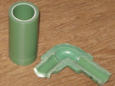 Сварное соединение не уступает цельной трубе прочностью, а превосходит его