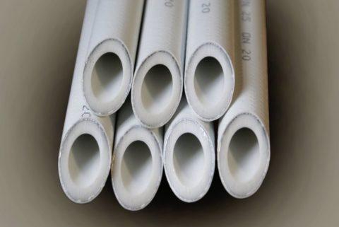 Трубы с алюминиевым армирующим слоем