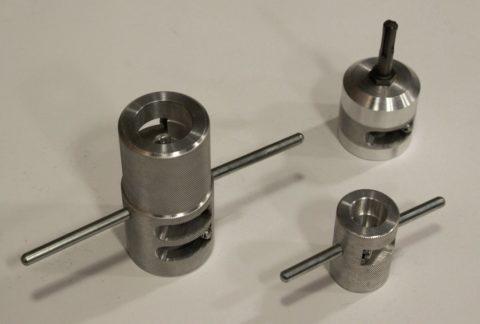 Зачистки для полипропиленовых труб —ручные и под перфоратор