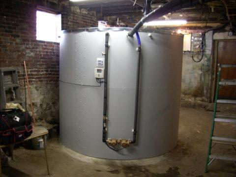 Емкий теплоаккумулятор для нужд отопления