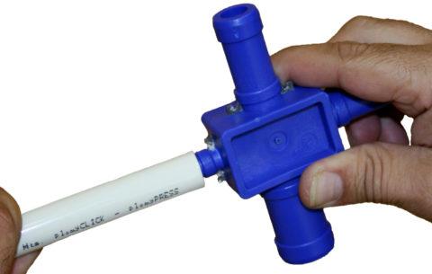 Калибратор часто снабжается ножами, позволяющими заодно снять фаску