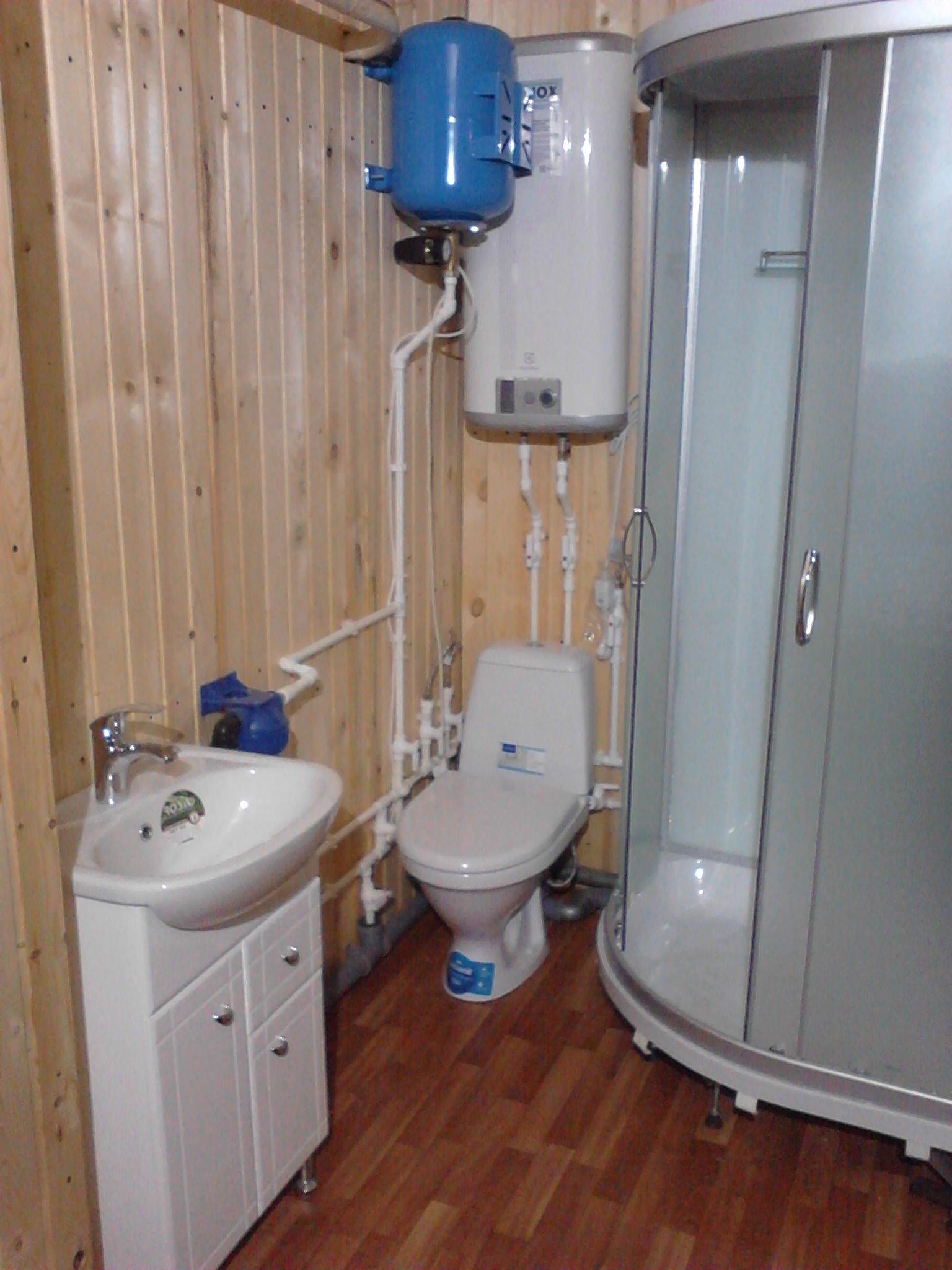 Душ в дачном доме без водопровода своими руками