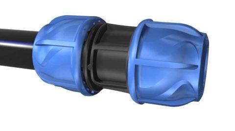Компрессионная муфта для полиэтиленового водопровода