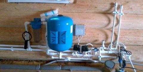 Мембранный гидроаккумулятор в системе водоснабжения дома