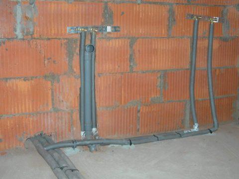 Монтаж водоснабжения при строительстве коттеджа