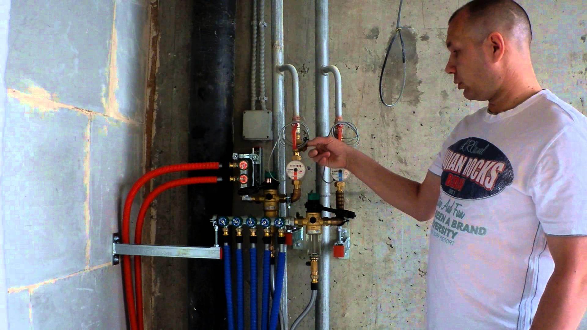 Установка системы водоснабжения своими руками5