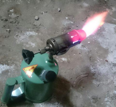 Паяльная лампа поможет реанимировать ваш водопровод