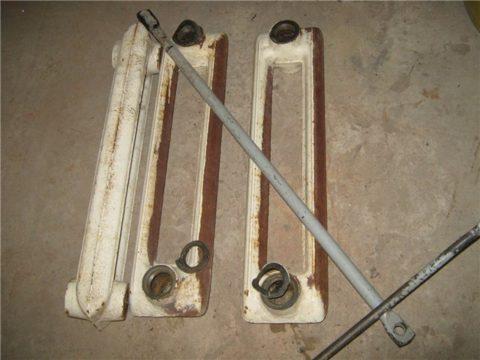Переборка секционного радиатора с заменой прокладок