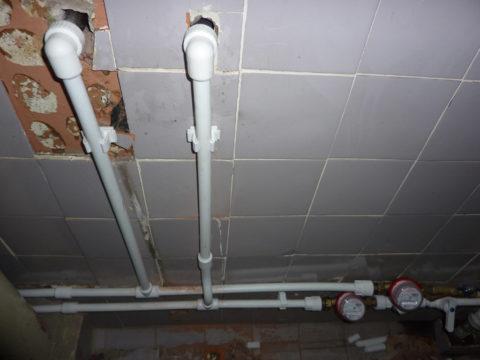 Полипропиленовые подводки водоснабжения в квартире